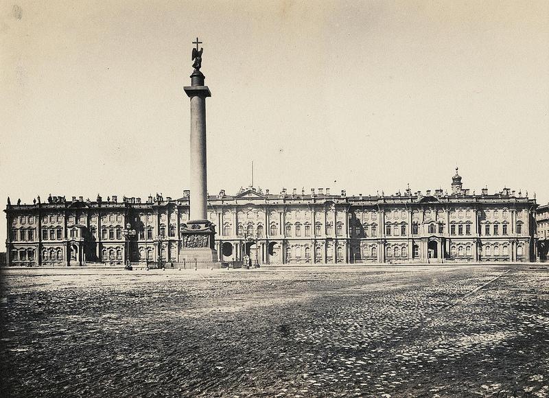 Зимний дворец на Дворцовой площади. 1863