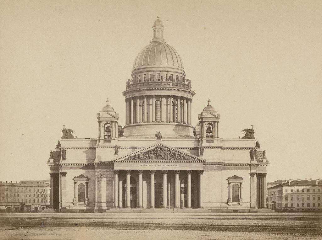 Исаакиевский собор в Санкт-Петербурге, 1863