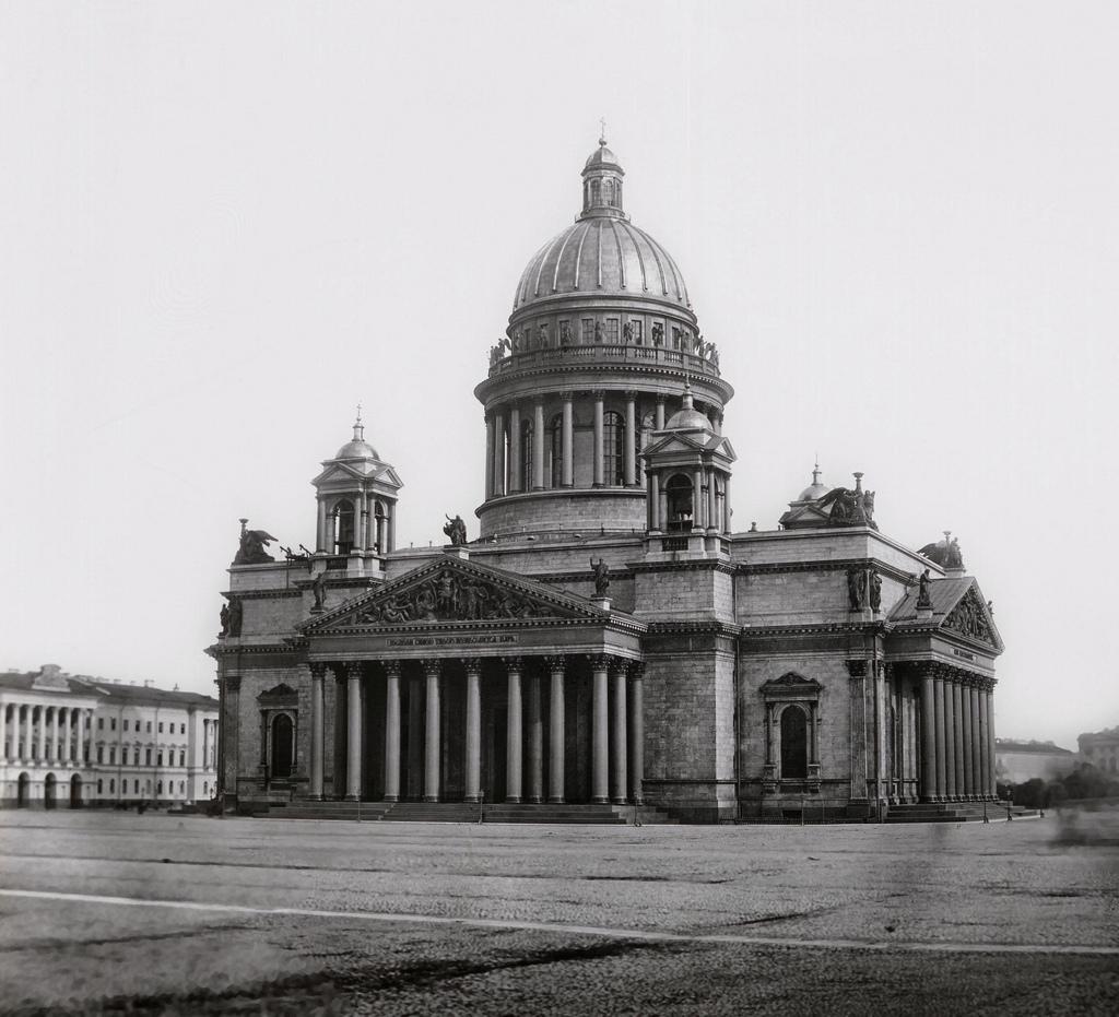 Исаакиевский собор. 1870