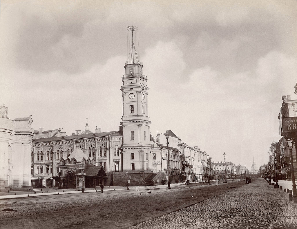 Вид Невского проспекта