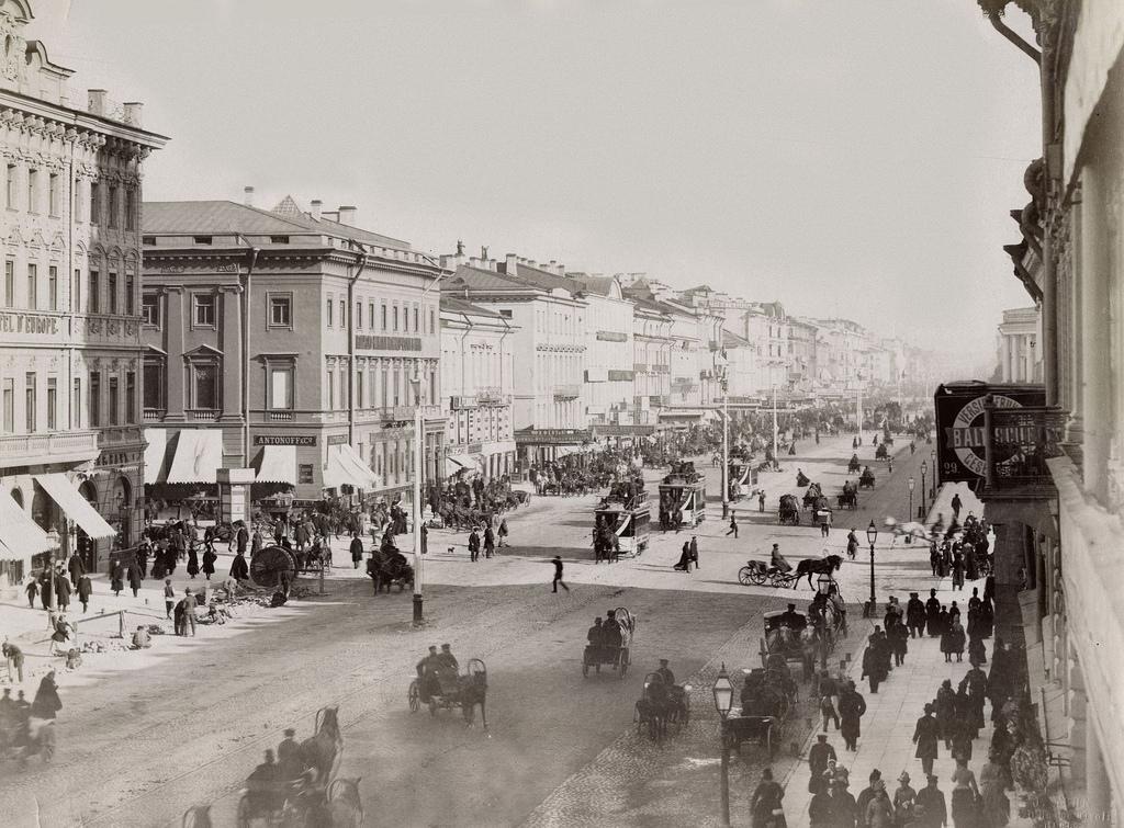 Невский проспект. 1888