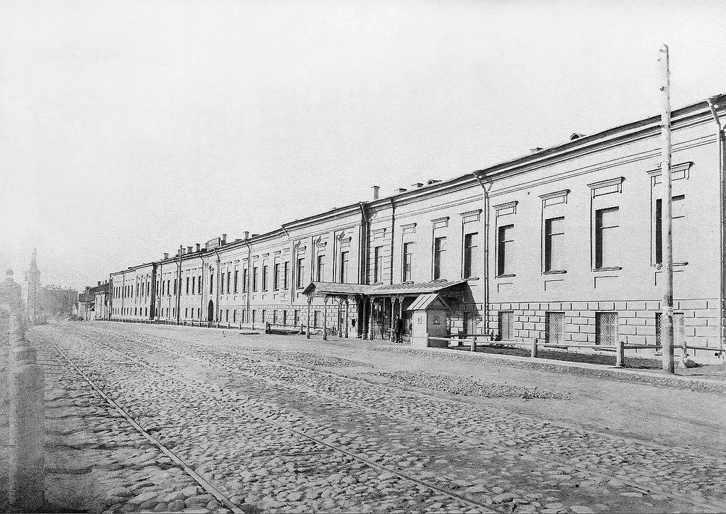Императорский фарфоровый завод . Лицевой корпус. Конец 1880-х