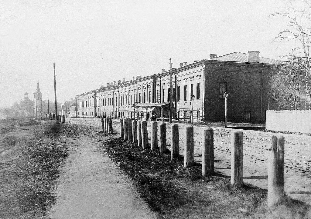 Императорский фарфоровый завод . Лицевой корпус. 1890-е