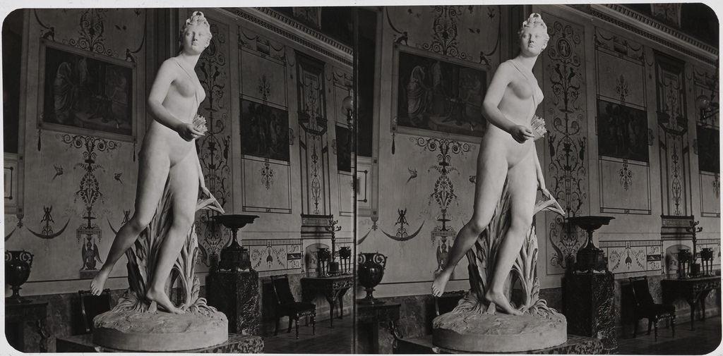 Статуя Дианы работы Жана Гудона. 1870