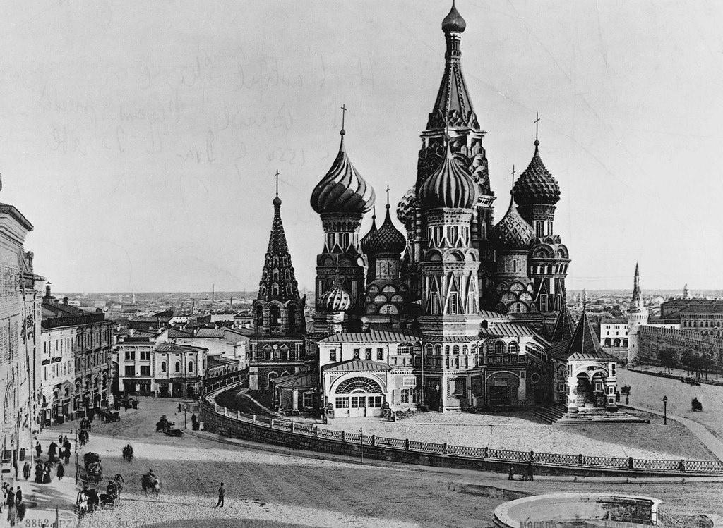 Собор Василия Блаженного. 1897