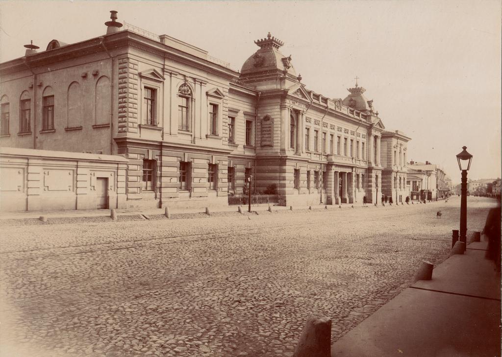 Александровское  Коммерческое Училище. 1891