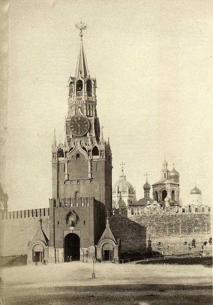 Спасская башня. 1880-е