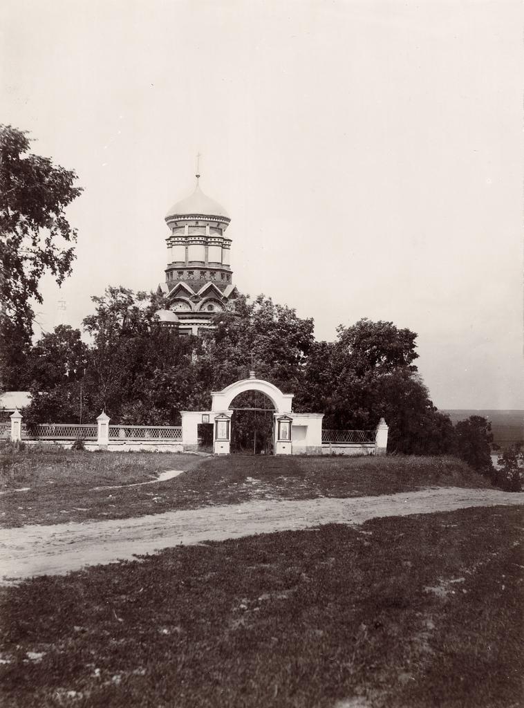 Церковь в Дьякове. 1891