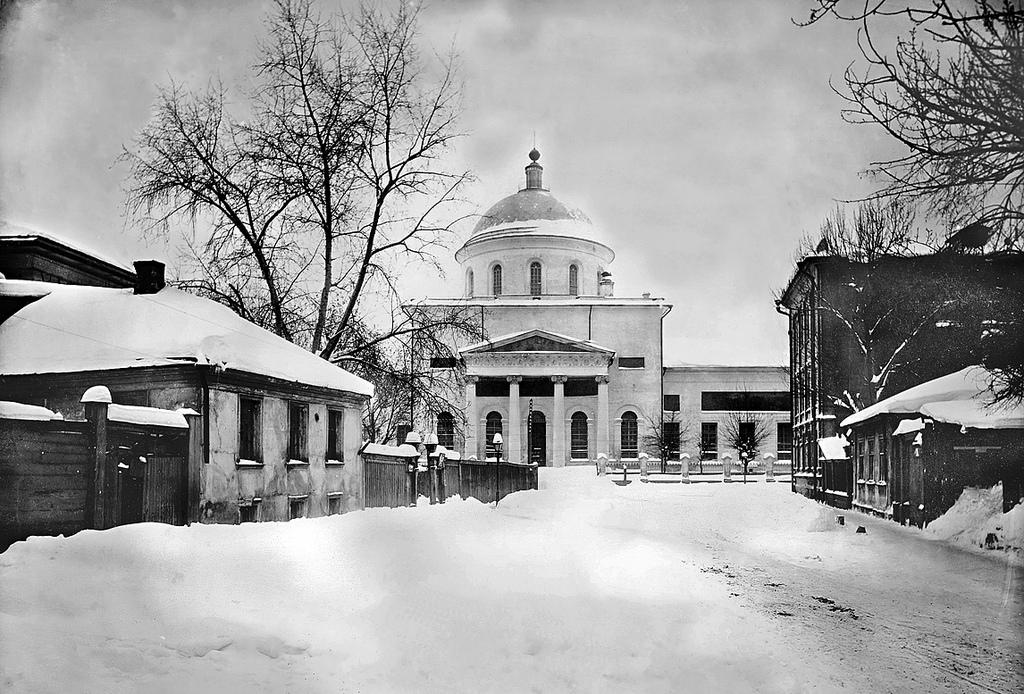 Церковь Вознесения Господня в Сторожах у Никитских ворот