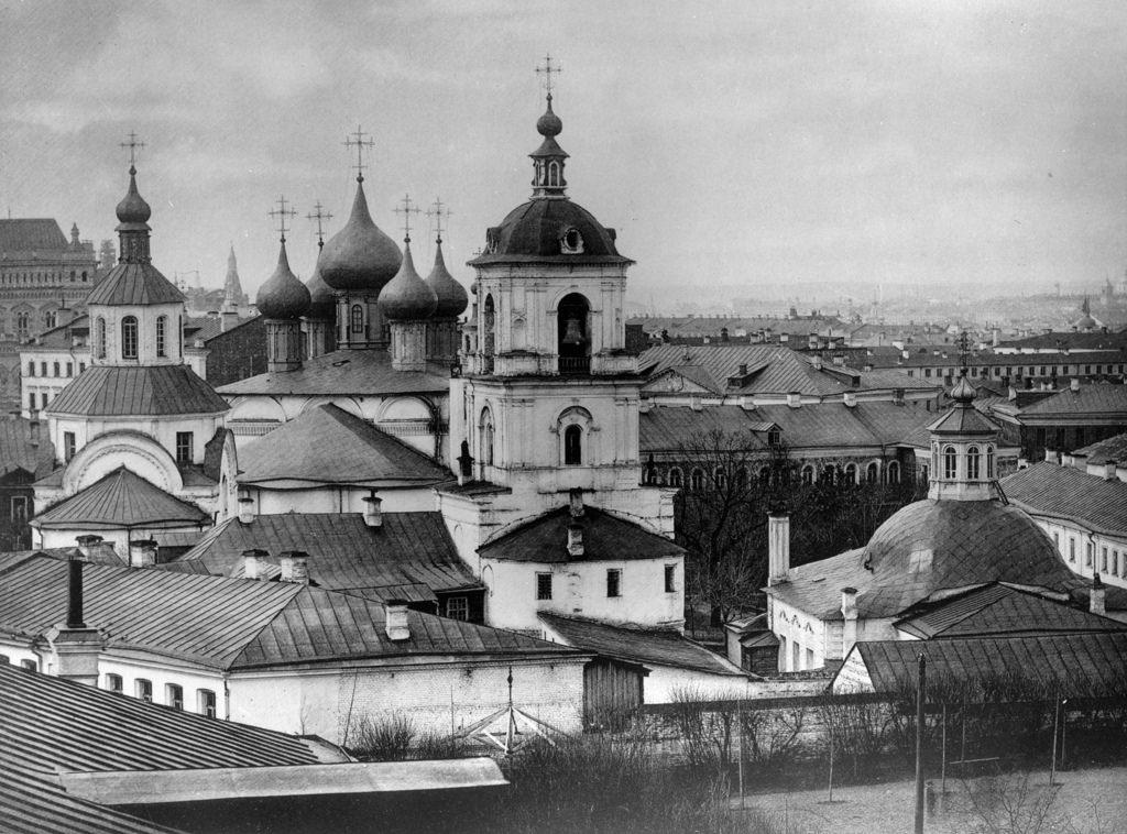 Вид на Златоустовский монастырь, 1882