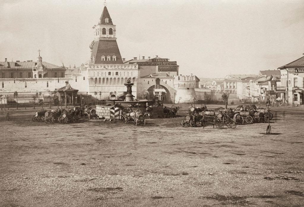 Лубянская площадь, 1870-е.