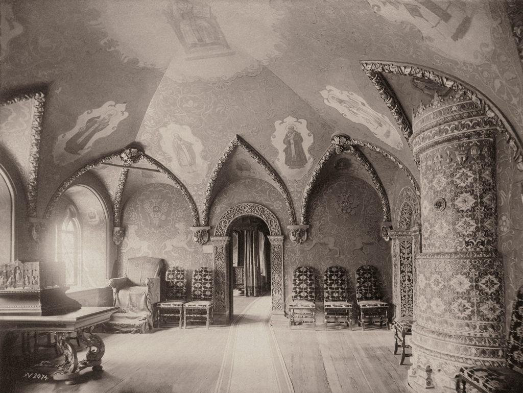 Теремной Дворец. Престольная палата