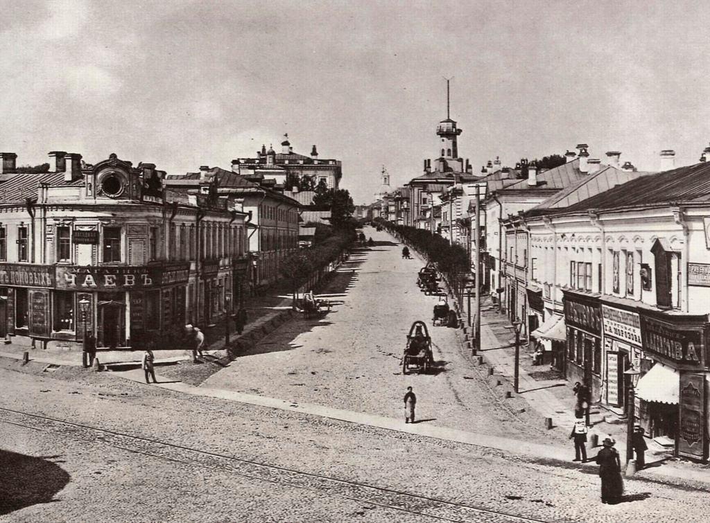 Новая Басманная улица, 1888