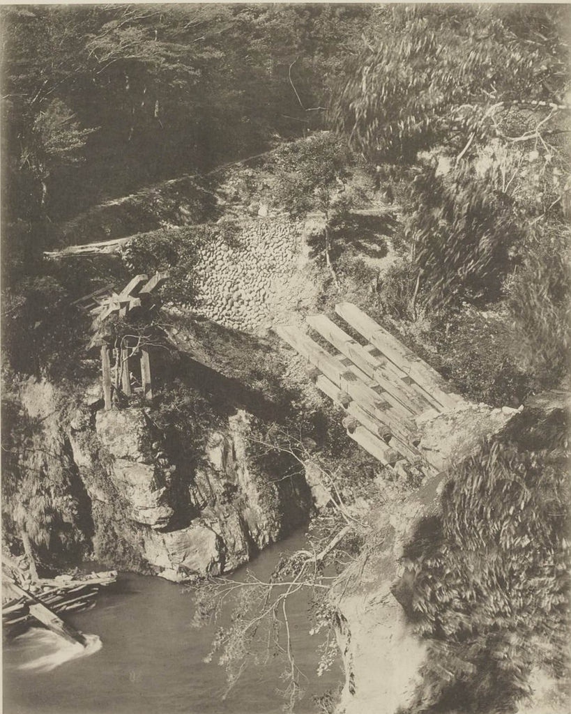 Мотосу. Мост через долину