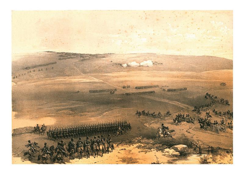 Первое боевое столкновение Крымской войны–кавалерийский бой у холмов Булганак 19 сентября 1854 года