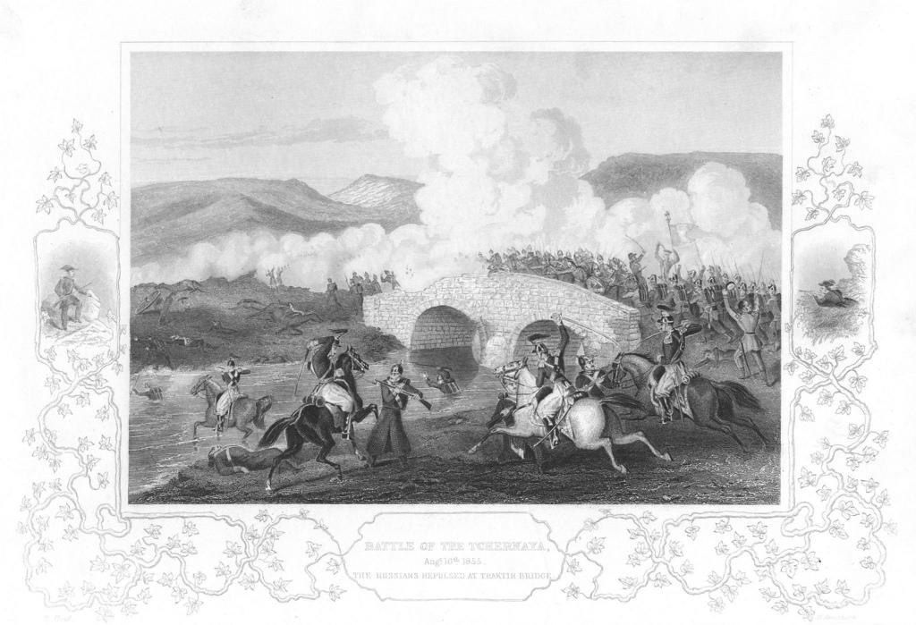 Сражение при Чёрной речке 16 августа 1855