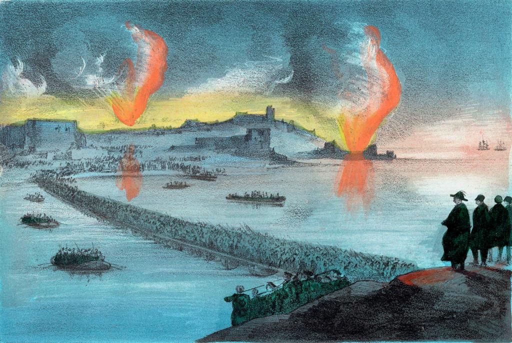 Князь Горчаков решил покинуть южную часть Севастополя и в течение ночи перевёл свои войска на северную сторону. Город был зажжён, пороховые погреба взорваны, военные суда, стоявшие в бухте, затоплены.
