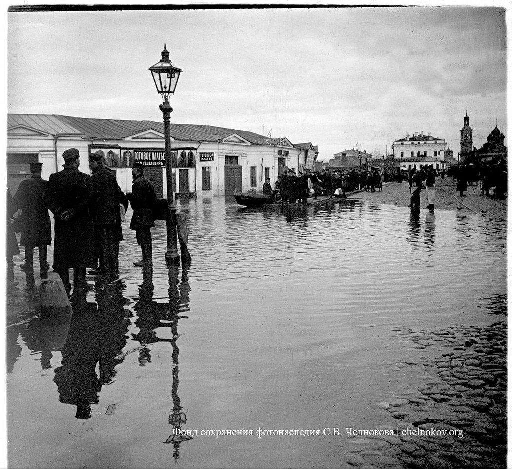 Наводнение. 10-14 апреля 1908