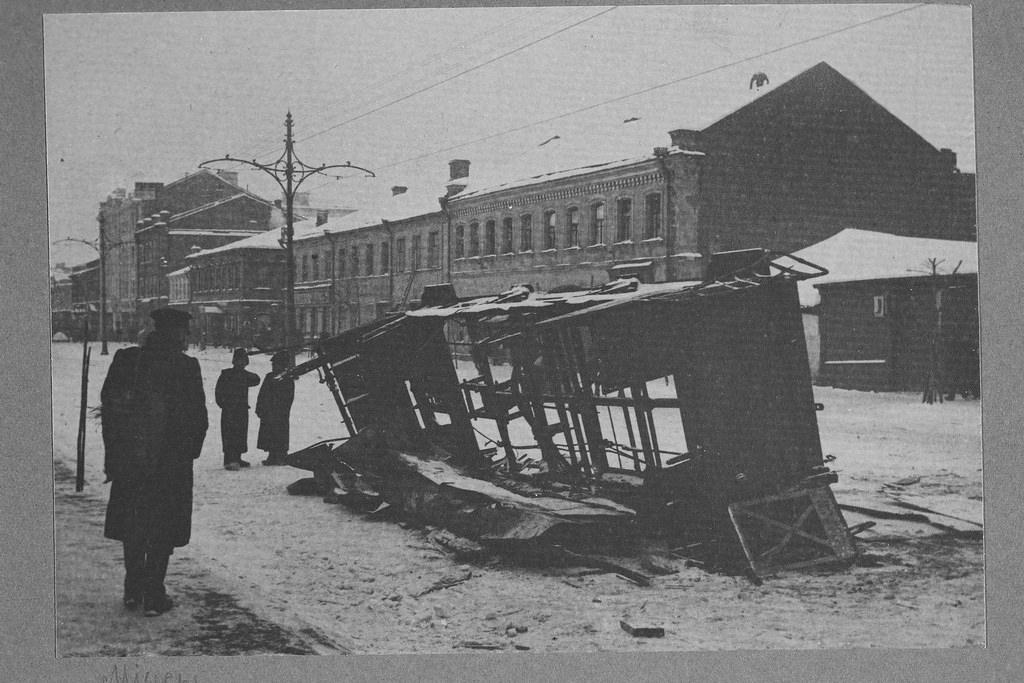 Последствия Декабрьского восстания. Миусы. Декабрь 1905