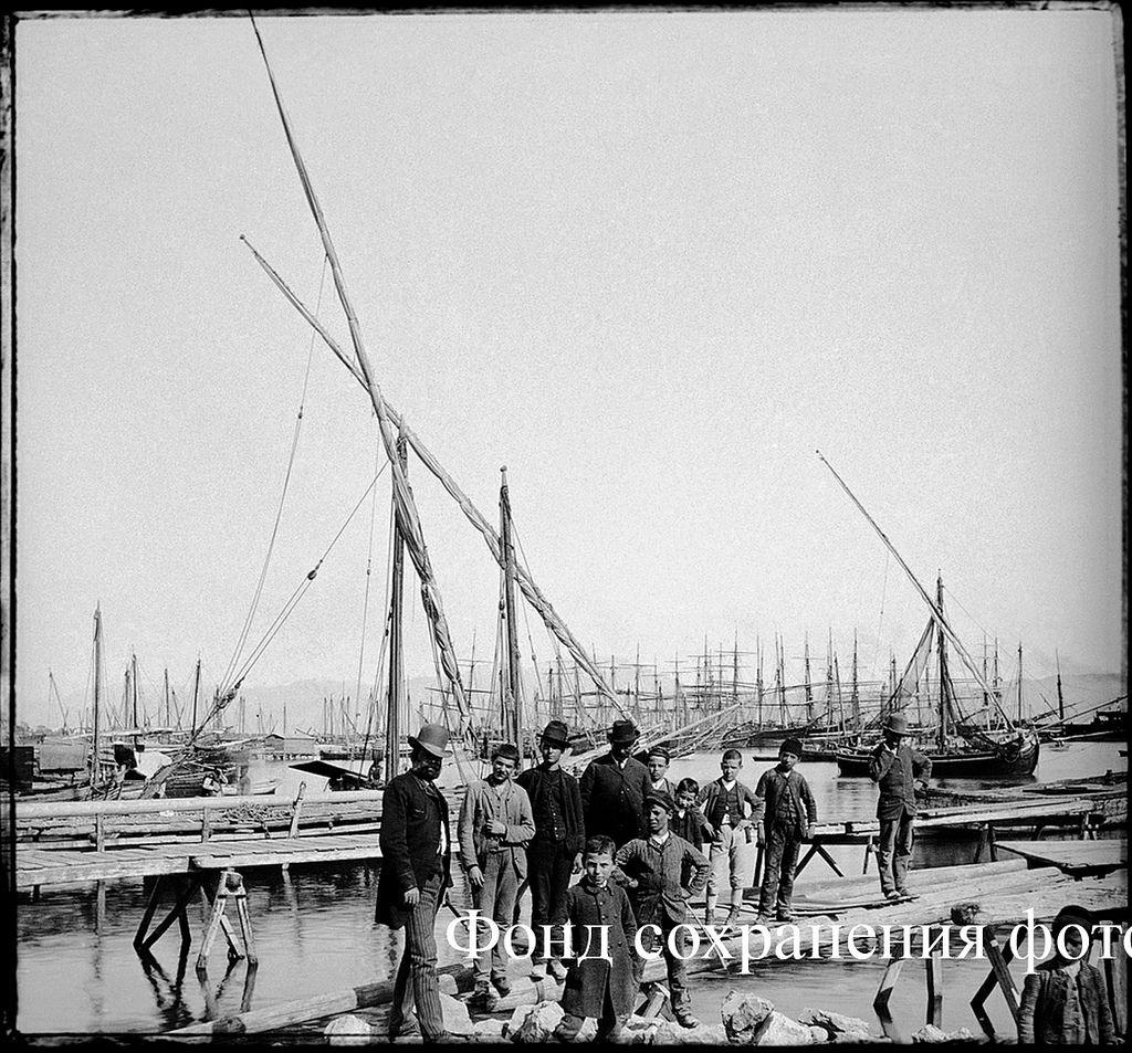 Италия, Генуя. Порт. 1890-е
