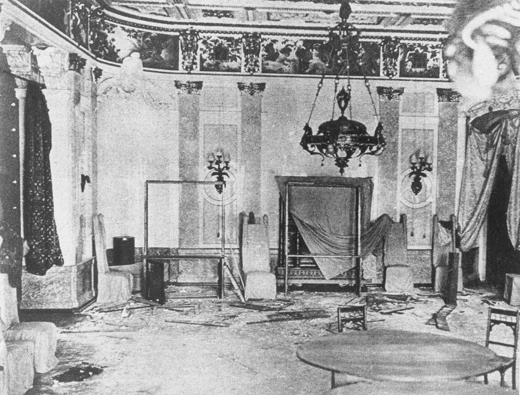 Комната, где был убит Вильгельм фон Мирбах