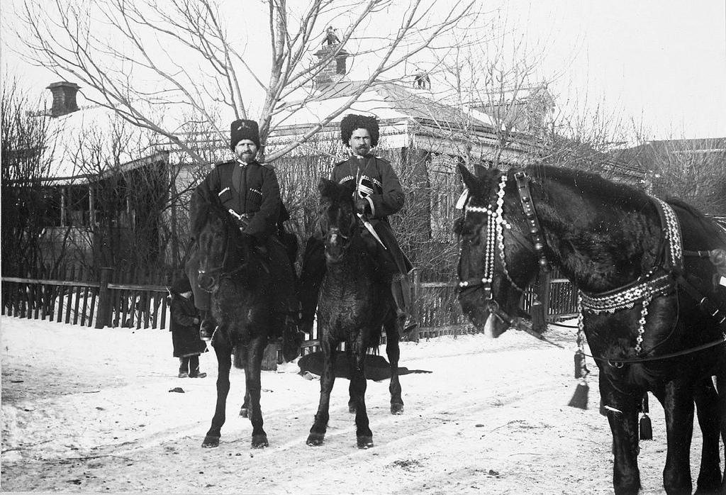 Казаки. Январь 1905