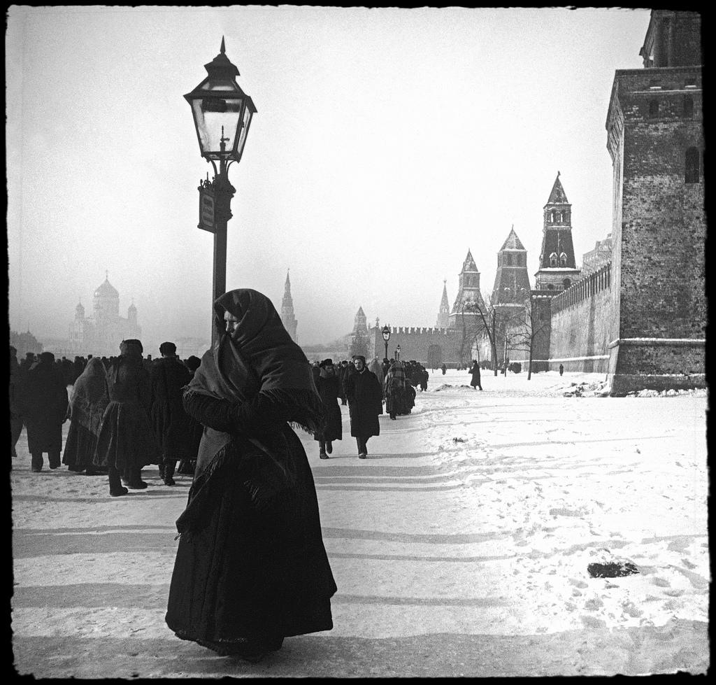 Кремлевская набережная. Крещение. 1900-е