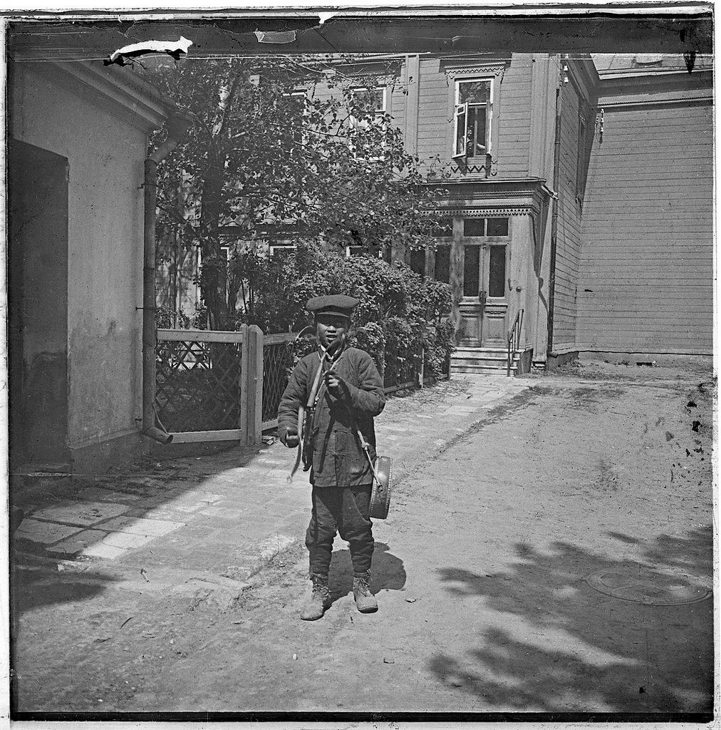 Слепой музыкант. 1900-е
