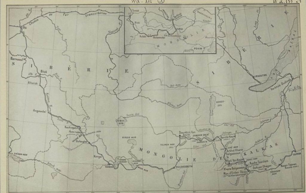 31. Карта Монголии