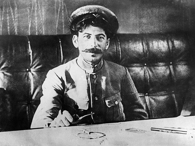 Иосиф Сталин в 1918