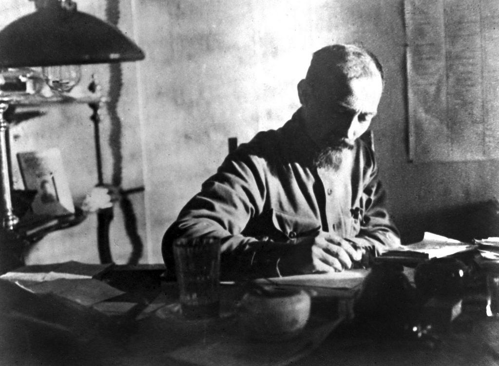 1924. В своем кабинете