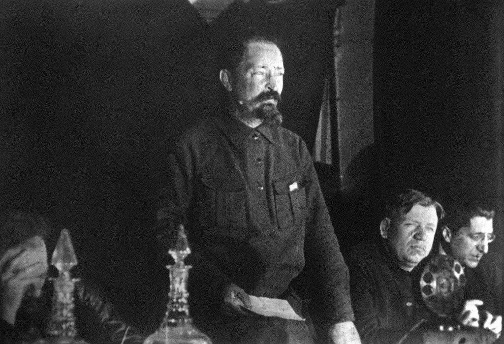 1926. Выступление Дзержинского. Май