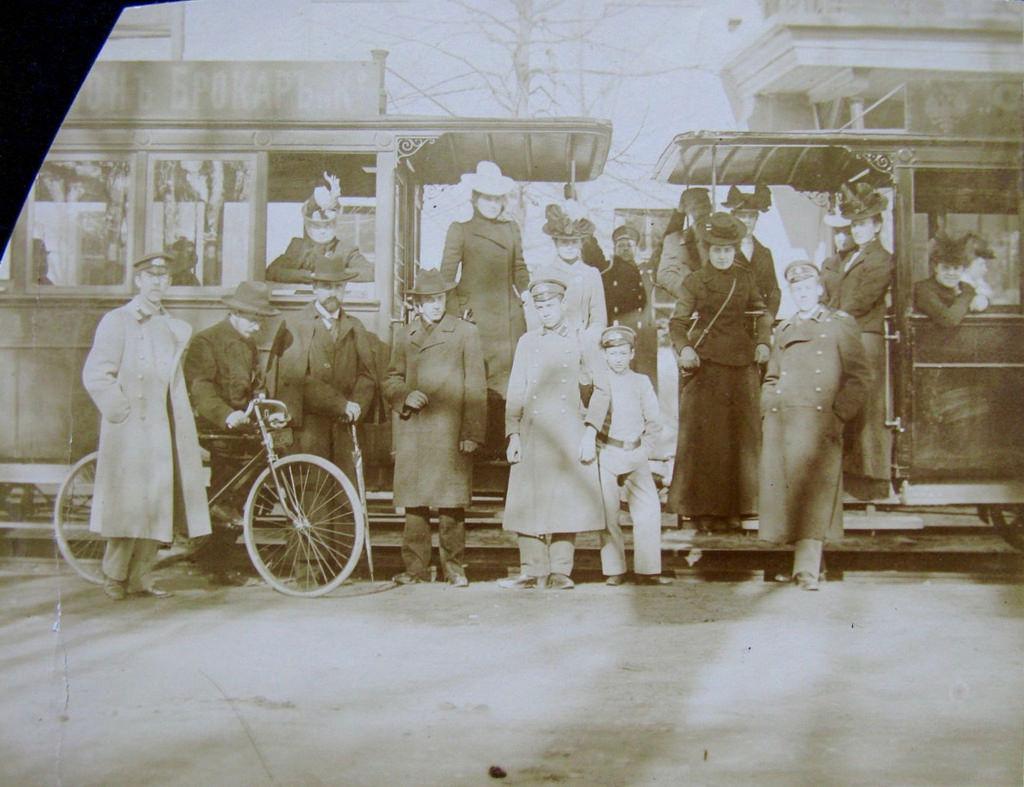 В Петровском парке. 1900