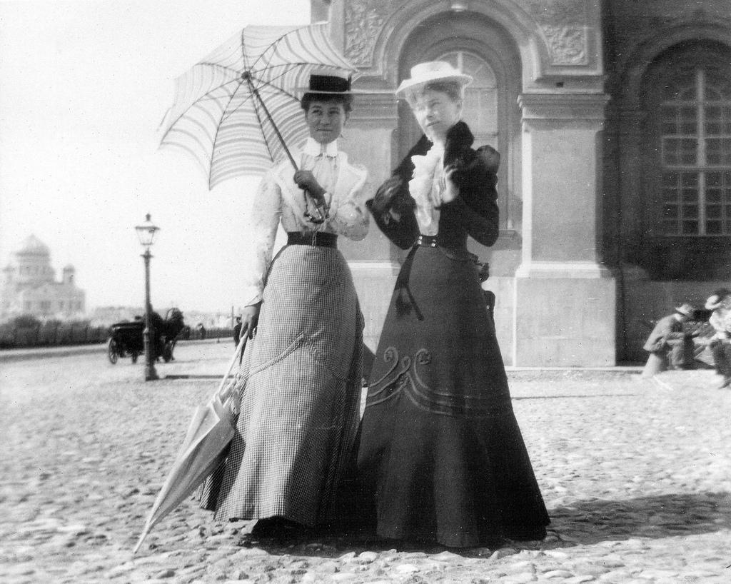 Дамы в Кремле. 1896