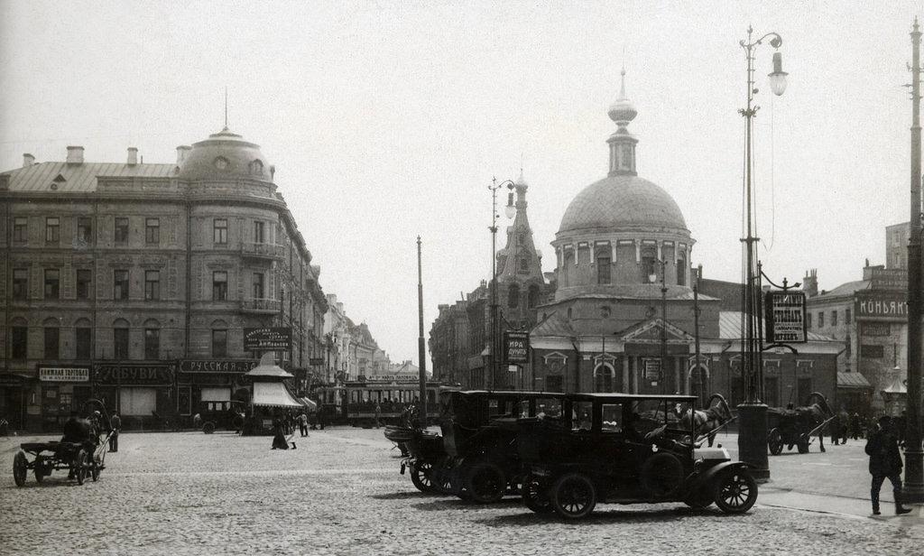 Страстная площадь. 1912