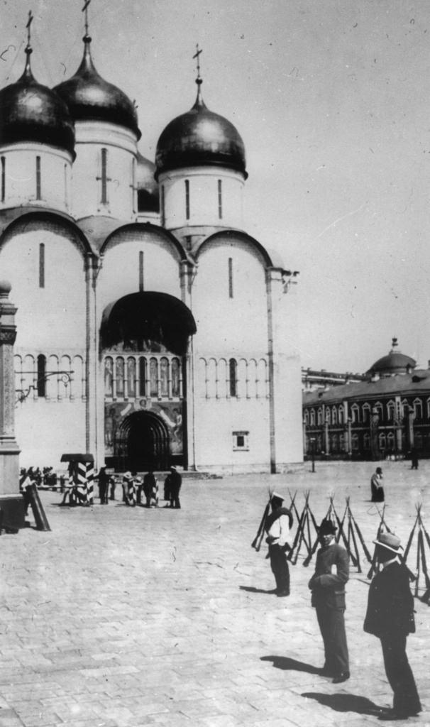 Успенский собор в Московском Кремле, 1883