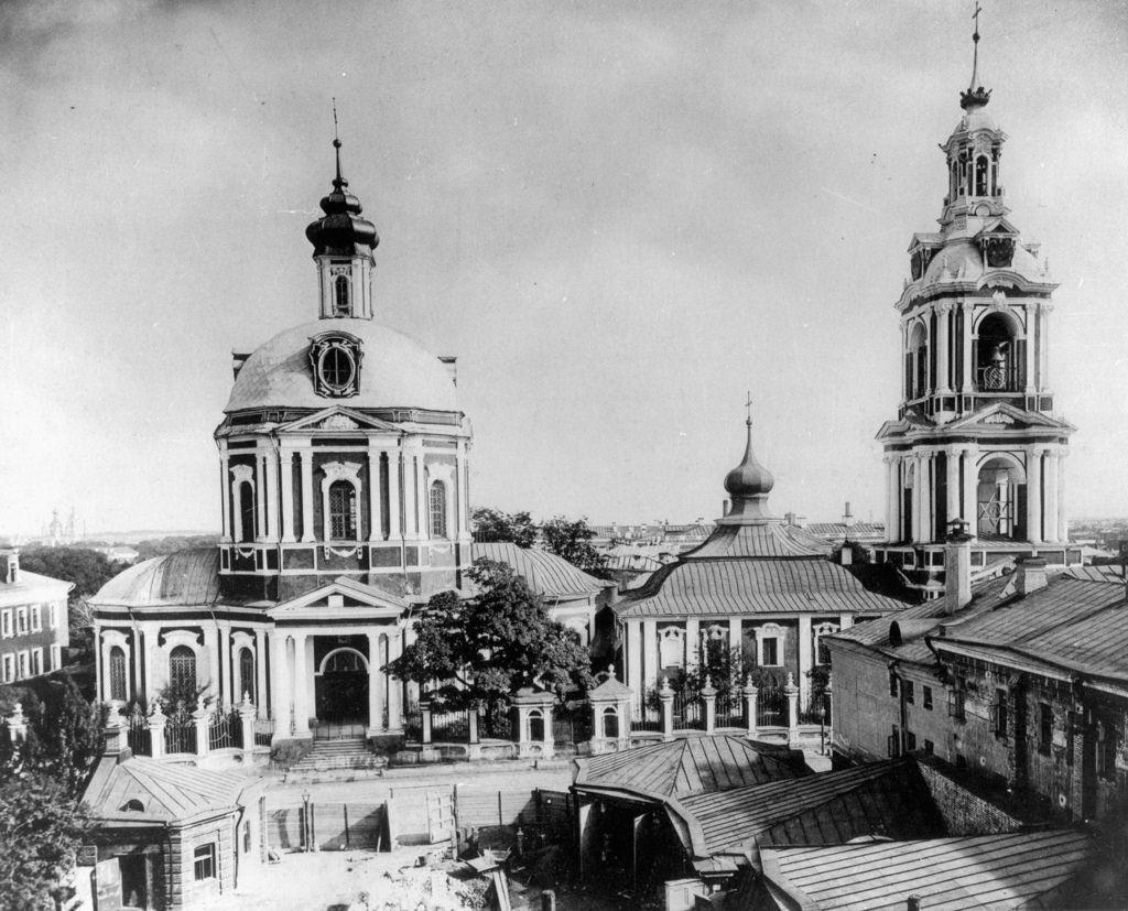 Храм Великомученика Никиты (Владимирской иконы Божией Матери в Старой Басманной слободе