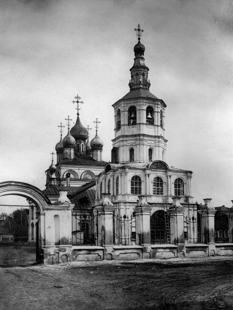 Церковь Живоначальной Троицы в Кожевниках