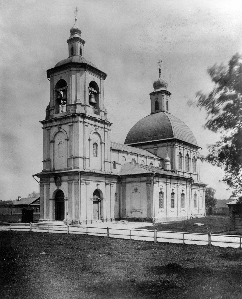 Церковь Знамения Богородицы, что в Переяславской ямской слободе, близ Крестовской заставы