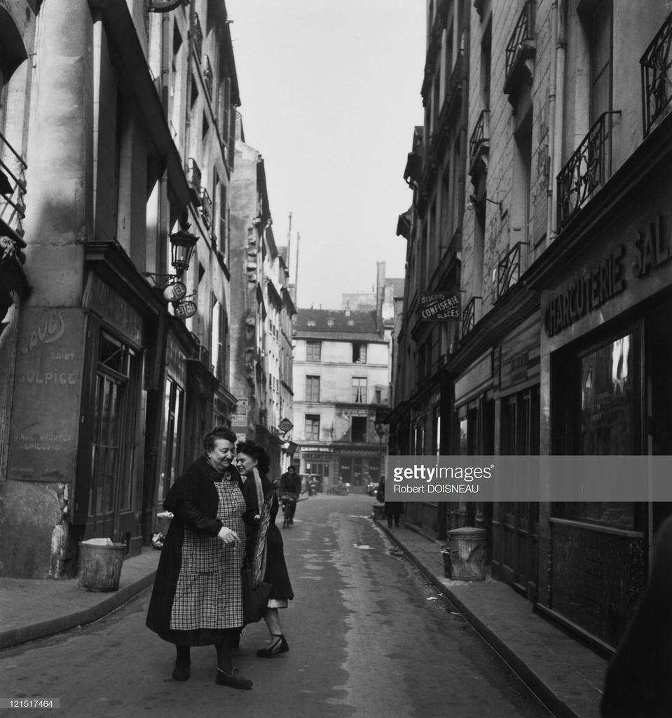 1950. Уличная сцена, Париж