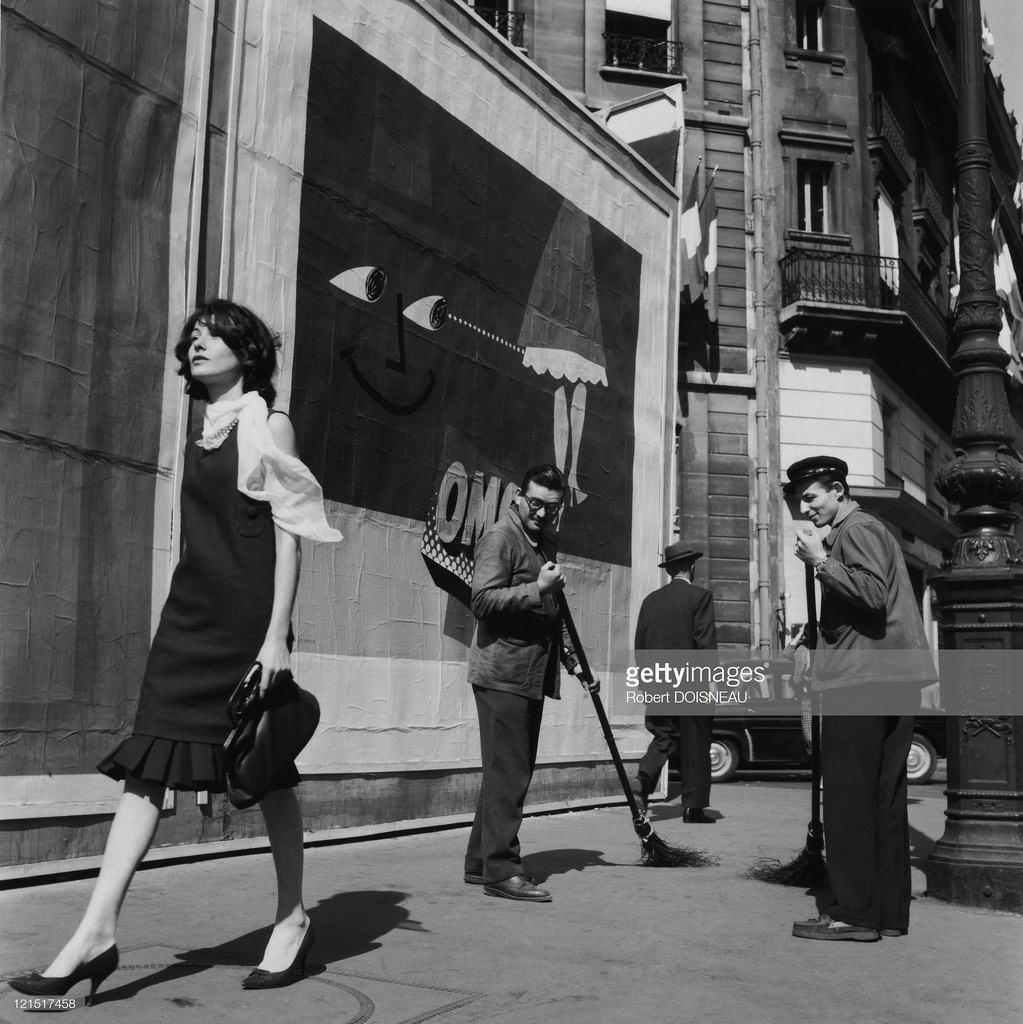 1959. В центре города. Париж