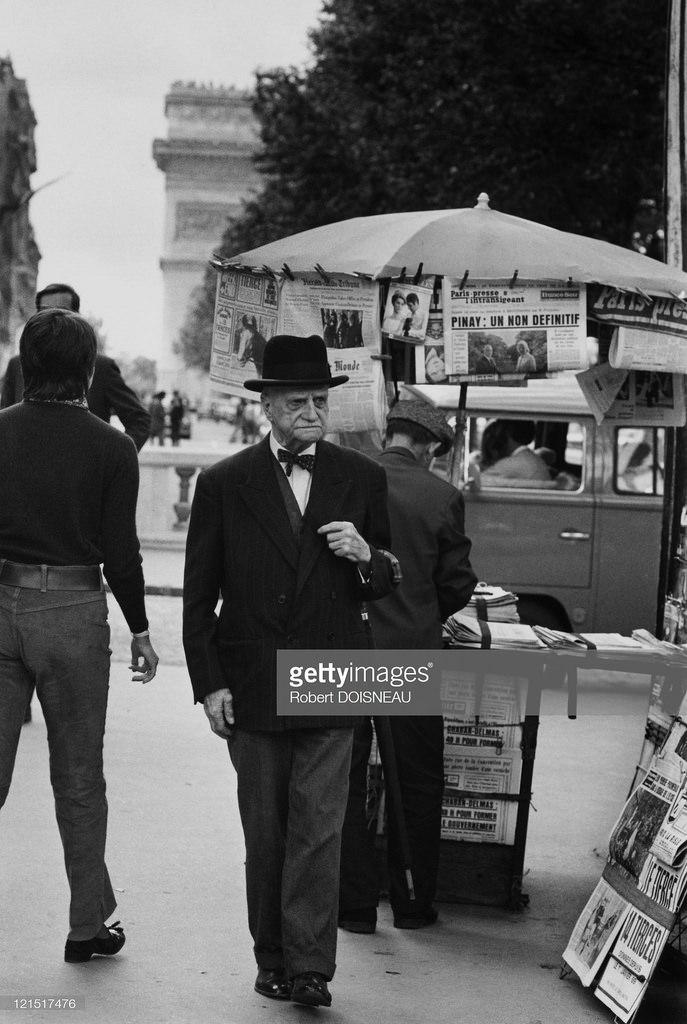 1969. Елисейские поля, Париж