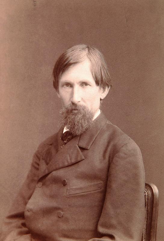 1885. Виктор Михайлович Васнецов, художник-живописец и архитектор, мастер исторической и фольклорной живописи