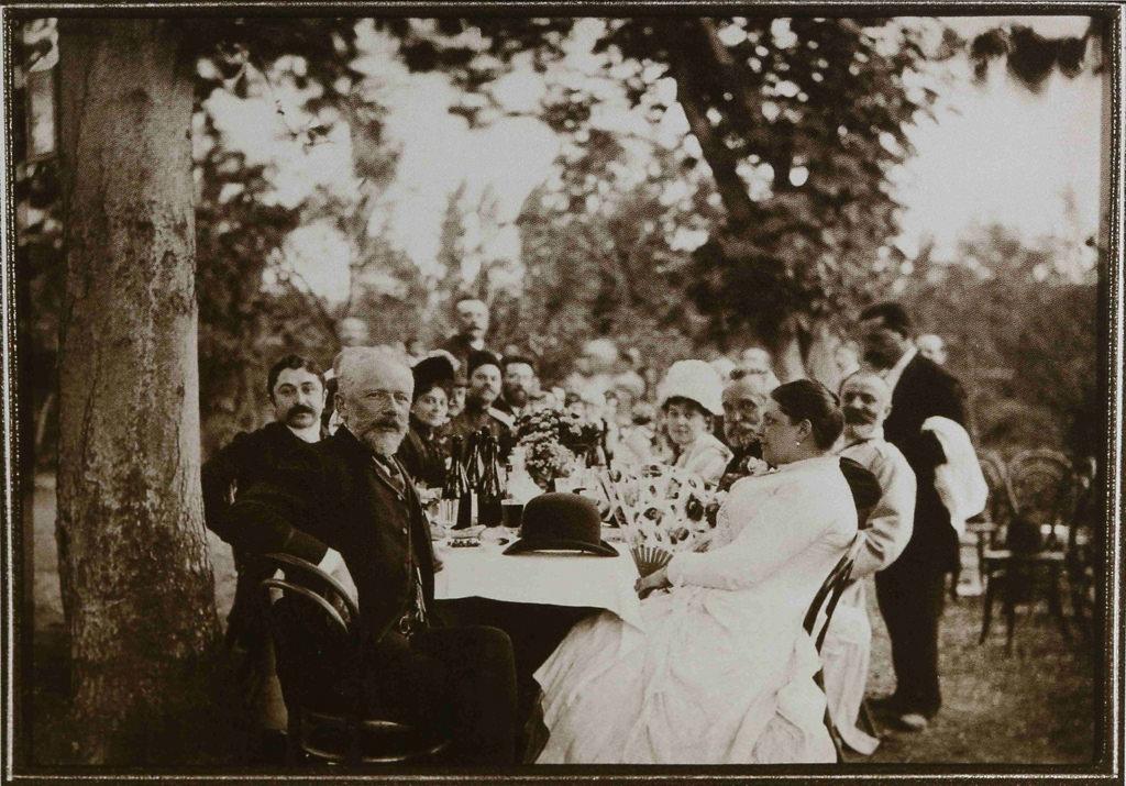 1889. Петр Ильич Чайковский в Тифлисе