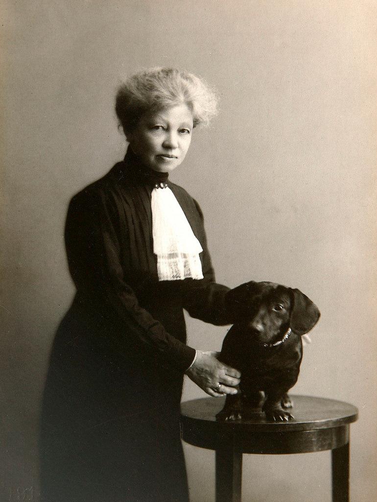 1890-е. Александра Андреевна  Кублицкая-Пиоттух (6 марта 1860 — 25 февраля 1923) — русская переводчица и литератор. Мать поэта Александра Александровича Блока[