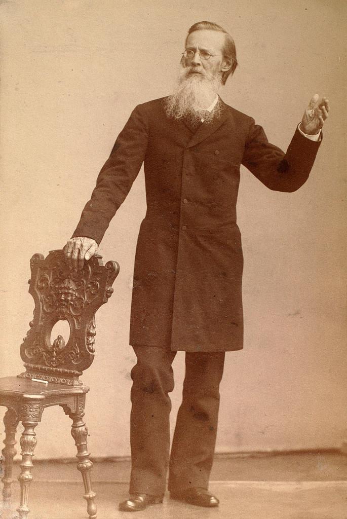 1890-е. Аполлон Николаевич Майков (1821-1897), поэт, член-корреспондент Петербургской АН (1853)