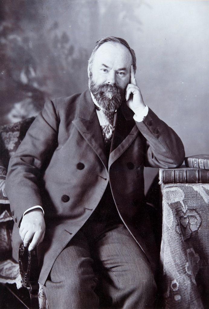 1890-е. Пётр Иванович Щукин  (1853-1912),  коллекционер, создатель Щукинского музея