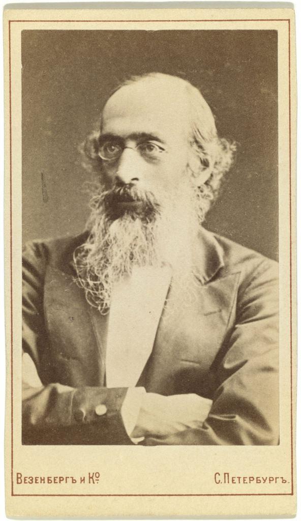 1890-е. Константин Николаевич Бестужев-Рюмин (1829-1897),  историк, руководитель санкт-петербургской школы историографии, специалист по источниковедению