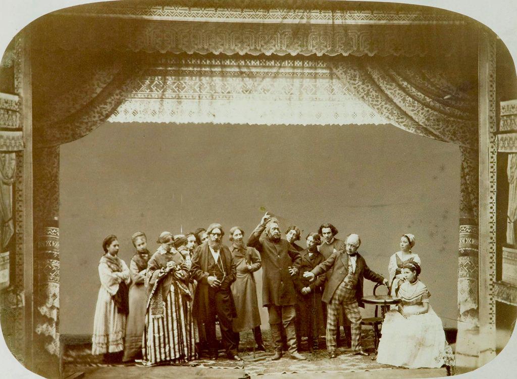 1892. Театральная группа Народного театра