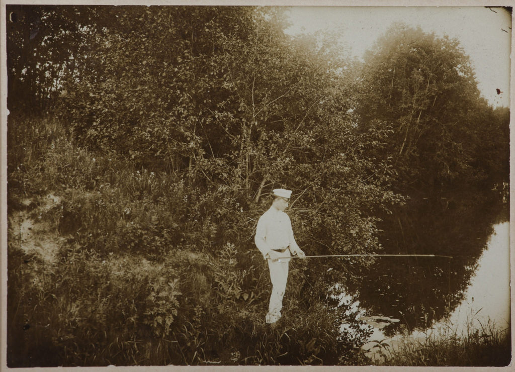 1894. Александр Блок на рыбалке. Шахматово
